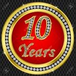 10 jarig jubileum